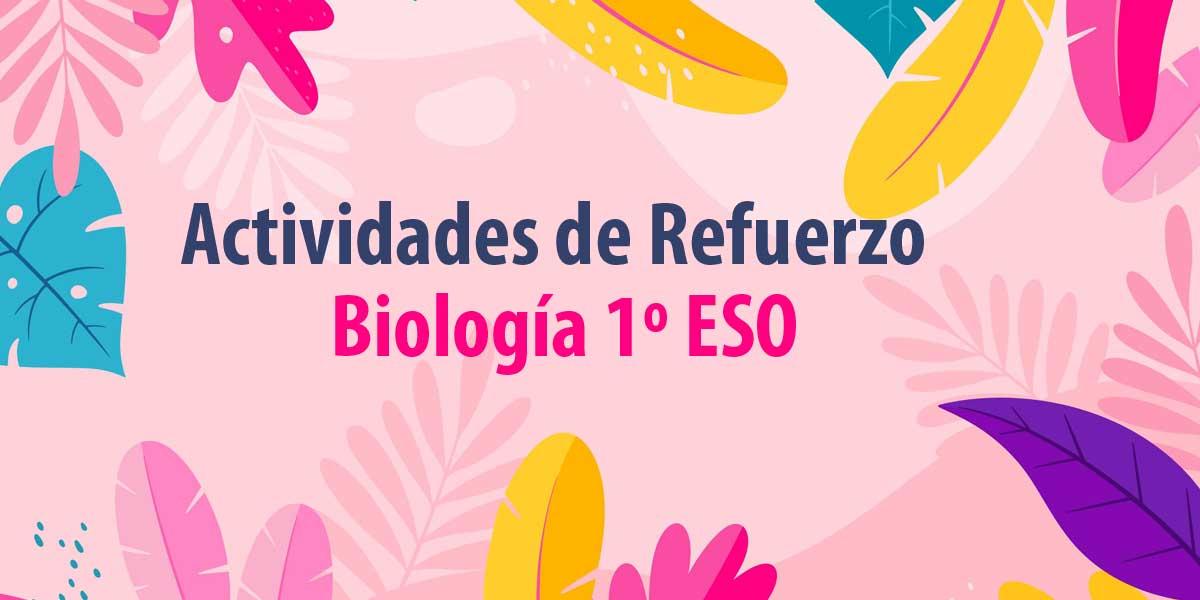 actividades de refuerzo para verano biologia 1 ESO