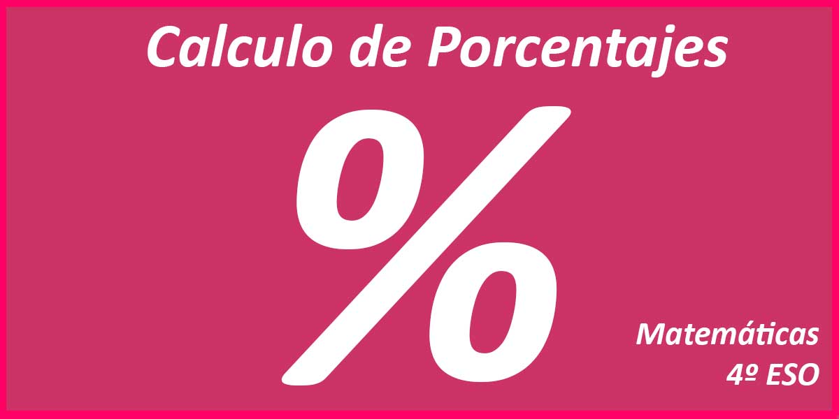 Calculo Porcentajes