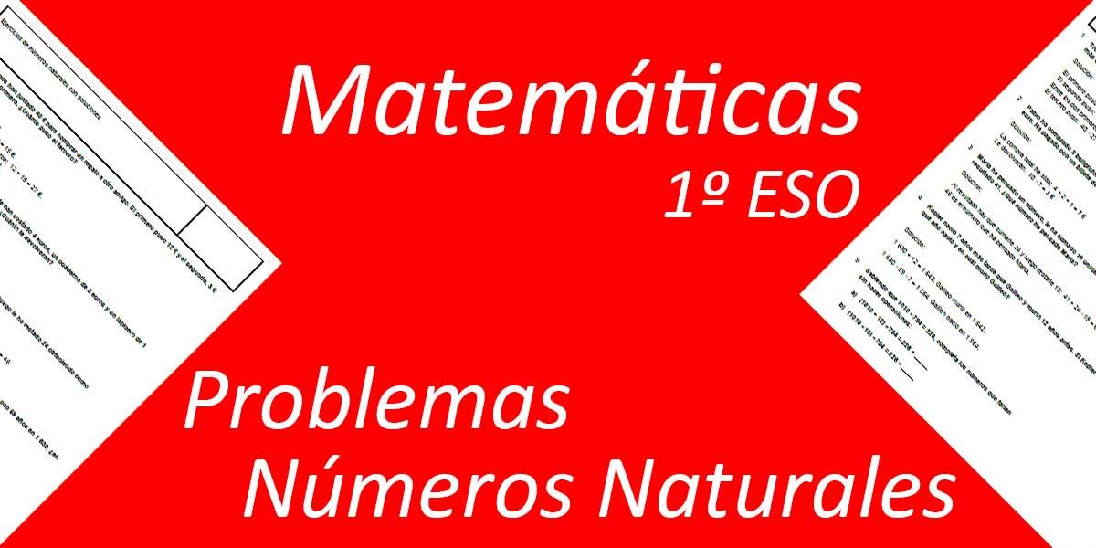 Problemas Números Naturales