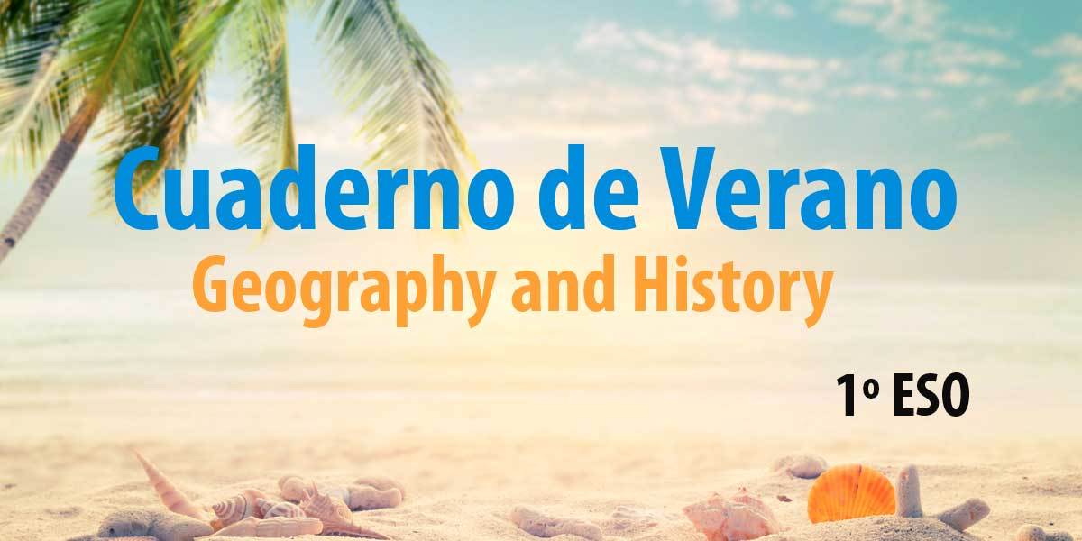 cuaderno de verano para imprimir de geography and history