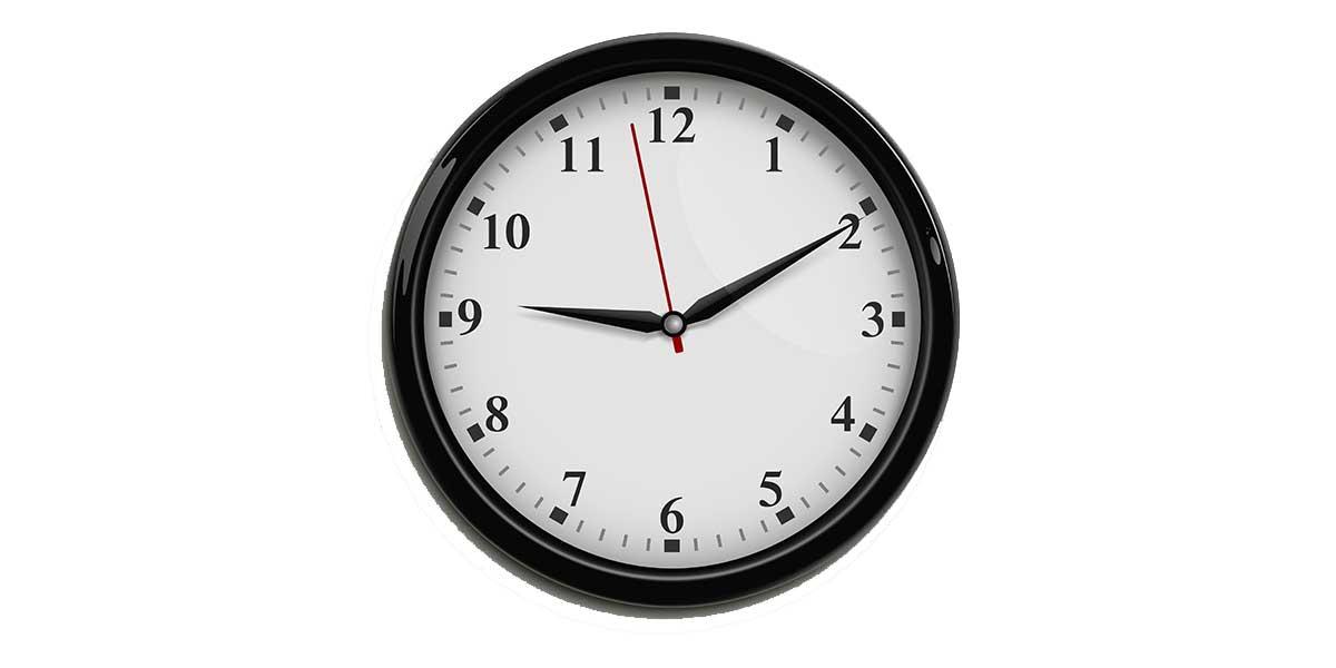Horas en francés