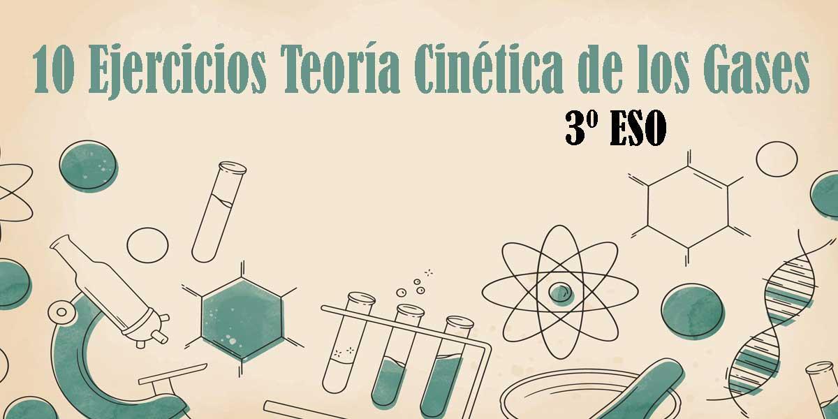 10 Ejercicios para repasar la teoría Cinética de los gases 3 ESO