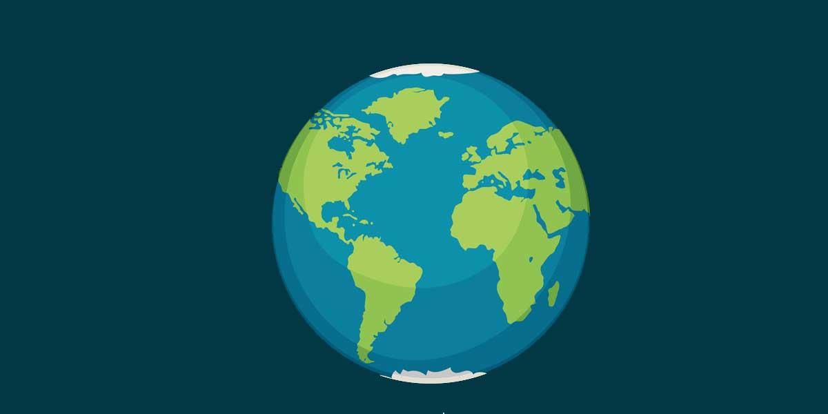 12 Ejercicios y soluciones sobre la tierra y su representación geográfica