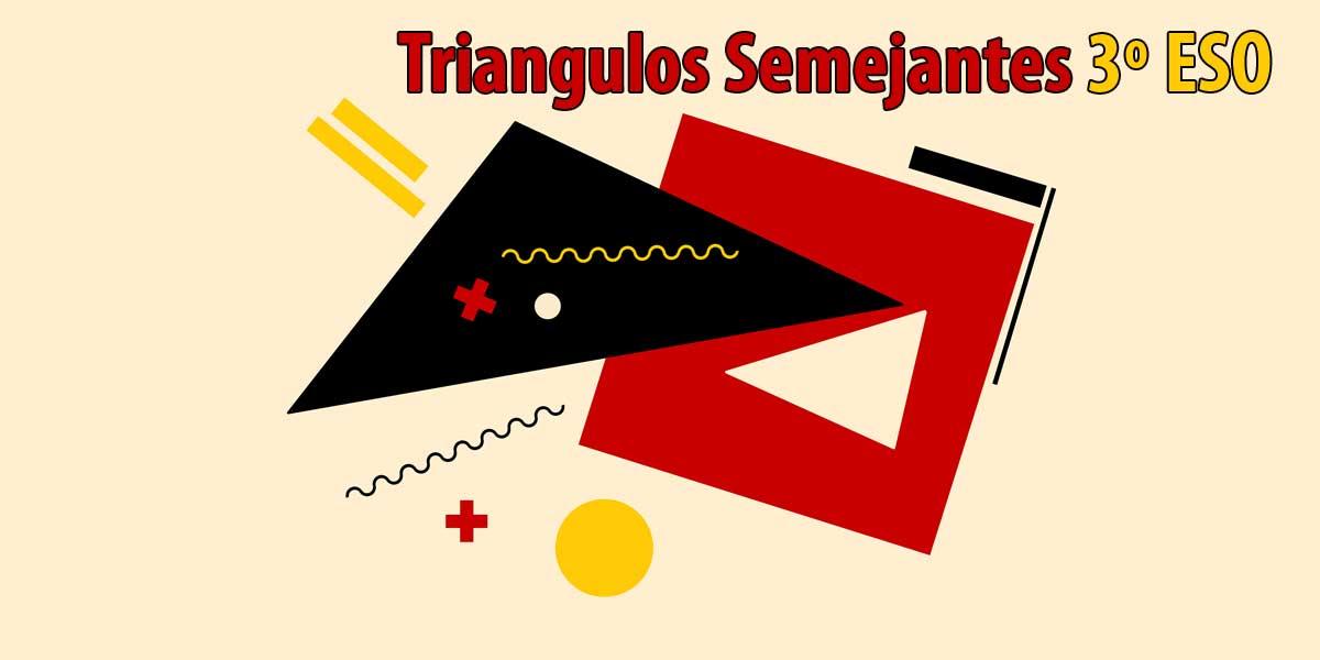 semejanza de triangulos ejercicio practico